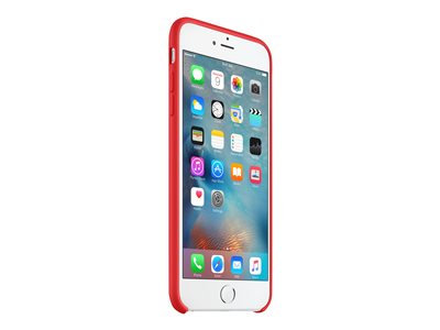 Apple (PRODUCT) RED - Zadní kryt pro mobilní telefon - silikon - červená - pro iPhone 6, 6s