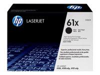 HP Tóner Negro (nº 61X) (10.000 páginas)C8061X