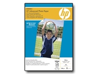 HP Advanced Glossy Photo Paper - papier photo brillant - 25 feuille(s)