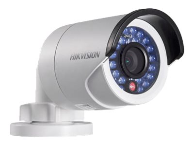 Hikvision IR Network Bullet Camera DS-2CD2032-I - Network surveillance camera - outdoor - weatherproof - color (Day&Night) - 3 MP - 2048 x 1536 - M12 mount - fixed focal - LAN 10/100 - MJPEG, H.264 - DC 12 V / PoE