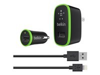 Belkin Charger Kit - Power adapter - AC / car