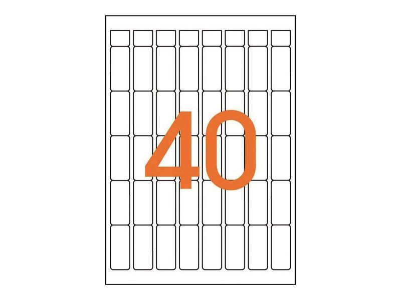 Agipa Etiquettes - Étiquettes adhésives permanentes - 640 étiquette(s)
