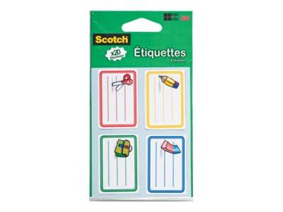 Scotch 369 - étiquette d'école