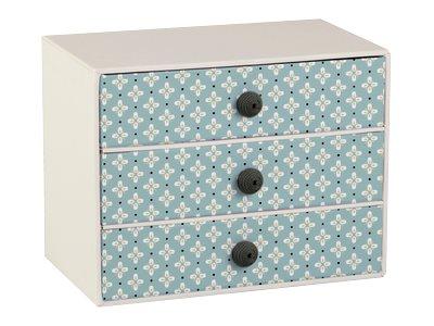 Clairefontaine Vive Maria - Bloc de classement à tiroirs - en 3 ou 9 tiroirs - différents coloris disponibles
