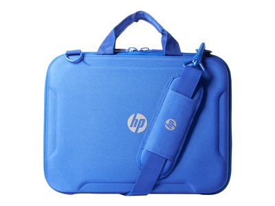 "HP Always-On Case - Notebook carrying case - 11"" - blue - Smart Buy - for Chromebook 11, 11 G2, 11 G3, 11 G4; ProBook 11 G1; Stream Pro 11 G3"