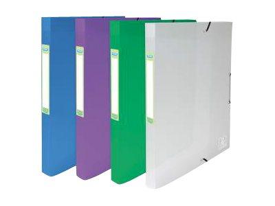 ELBA 2ND LIFE - Boîte de classement - 20 mm - 24 x32 cm - disponible dans différentes couleurs
