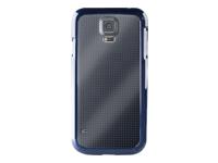 PURO Clear Bagomslag til mobiltelefon plastik, silicone blå