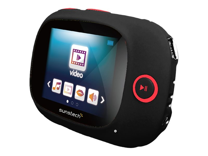 SUNSTECH SPORTYII REPRODUCTOR DIGITAL 4 GB NEGRO
