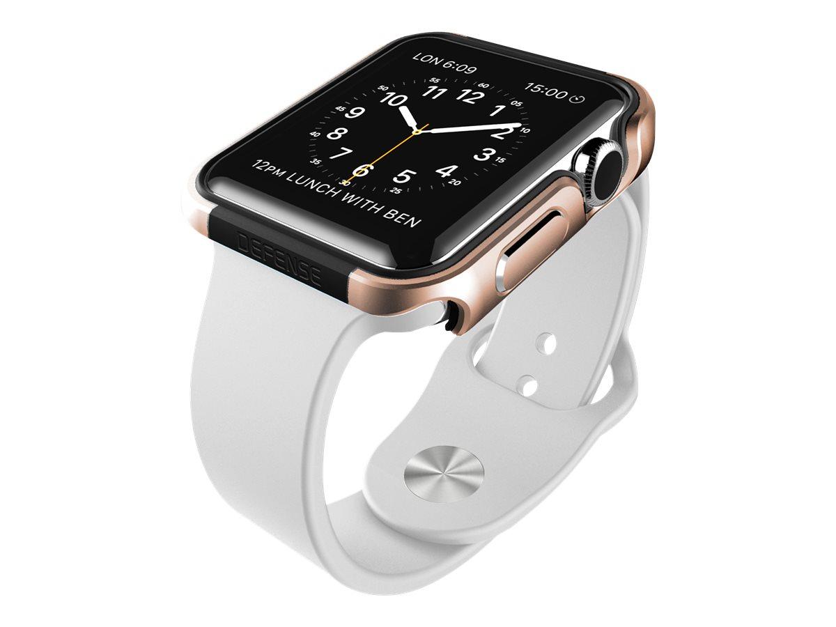 X-Doria Defense Edge -Coque de protection pour montre Apple Watch (38 mm) - or