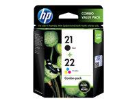 HP  21/22 Combo PackSD367AE#301
