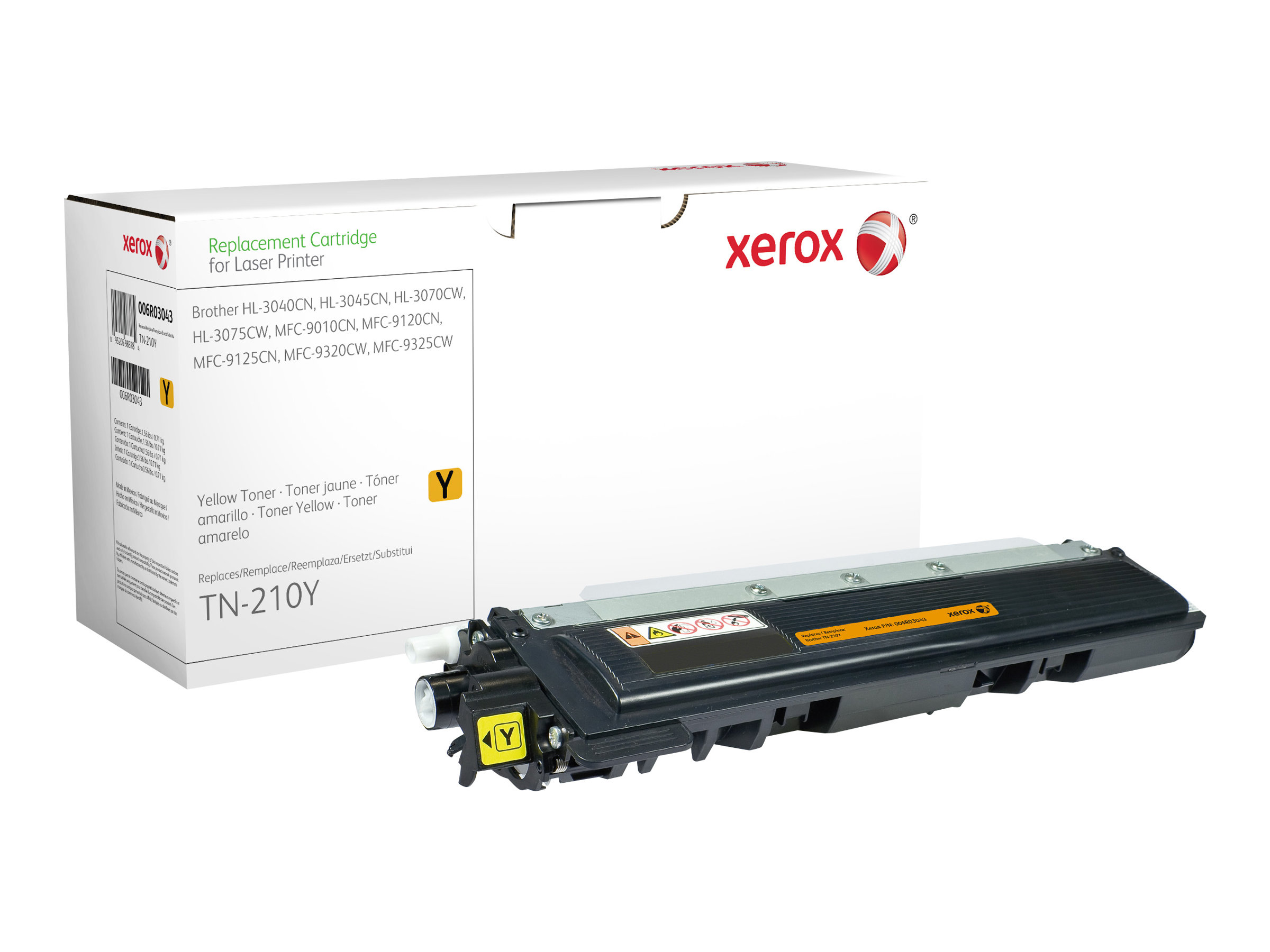Xerox - jaune - cartouche de toner (alternative pour : Brother TN230Y)