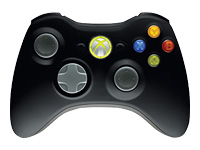 Microsoft Xbox 360 Wireless Controller for Windows Gamepad 16 knapper