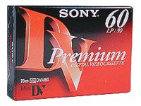 Sony DVM-60PR Premium - Mini-cassette vidéo - 1 x 60min