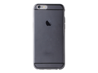 PURO Plasma Bagomslag til mobiltelefon silicone semi-transparent sort