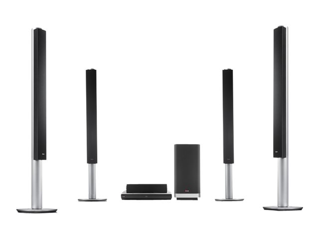 LG BH9540TW - home theater system - 9.1 channel