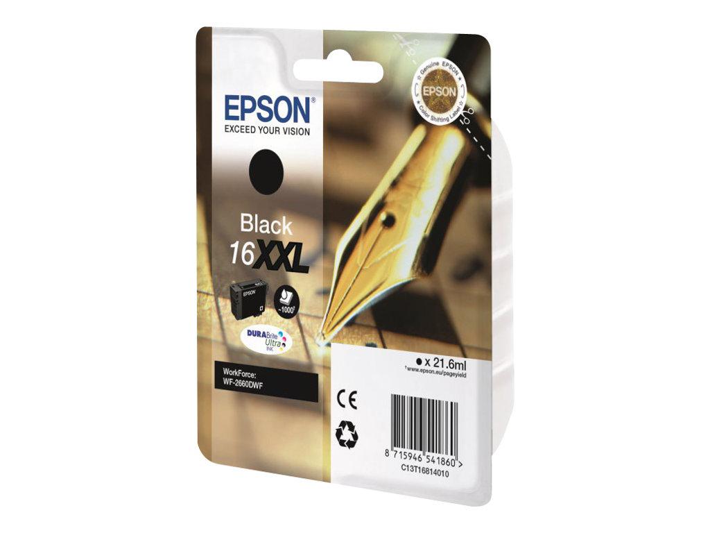 Epson 16XXL - haute capacité - noir - originale - cartouche d'encre