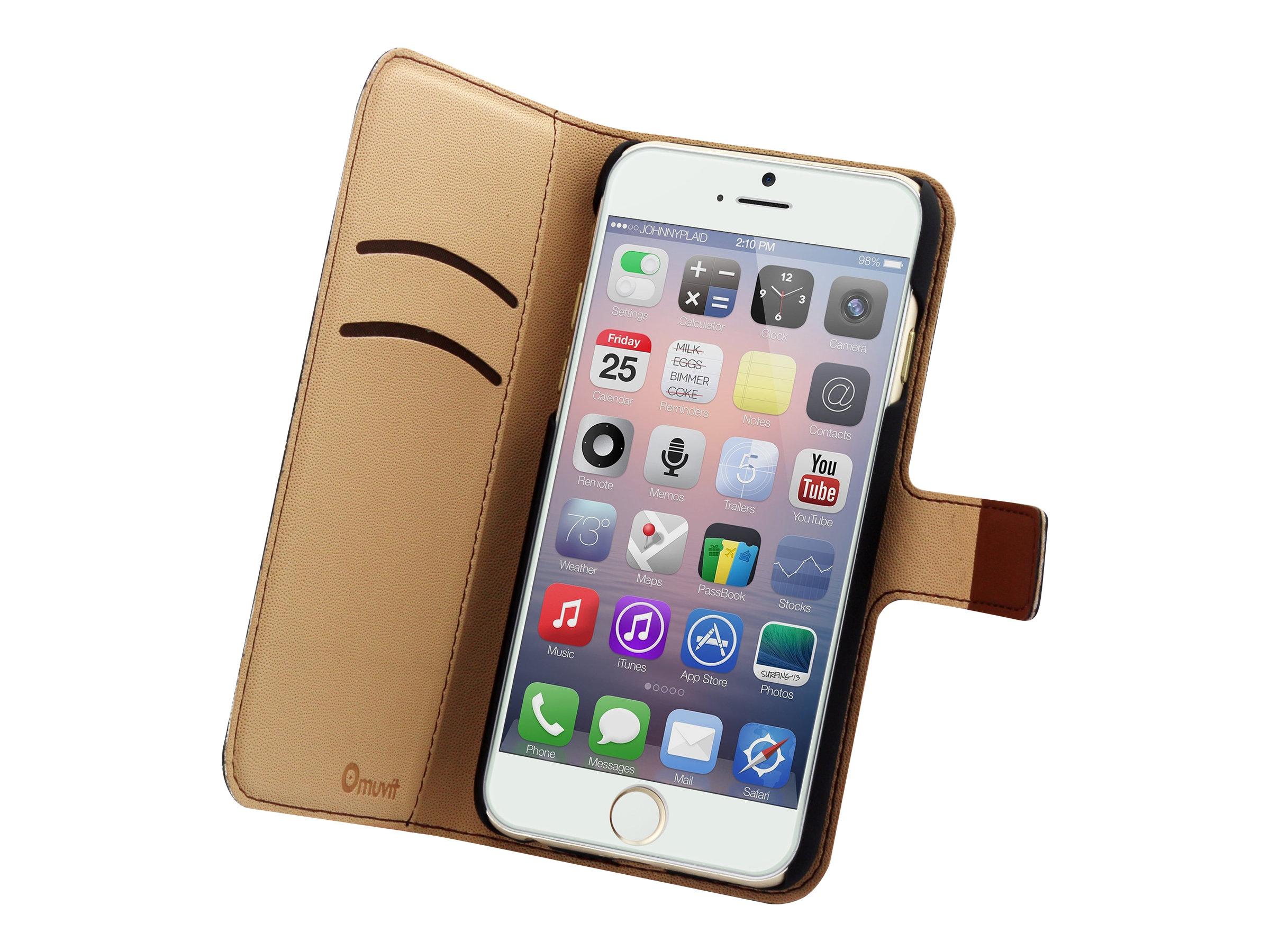 Muvit Wallet Folio protection à rabat pour téléphone portable