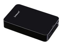 """Intenso Memory Center Harddisk 2 TB ekstern (stationær) 3.5"""" USB 3.0"""
