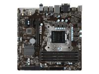MSI B150M PRO-VDH - carte-mère - micro ATX - LGA1151 Socket - B150