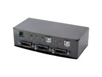 Gelcom - commutateur écran-clavier-souris/audio/USB - 2 ports - Ordinateur de bureau