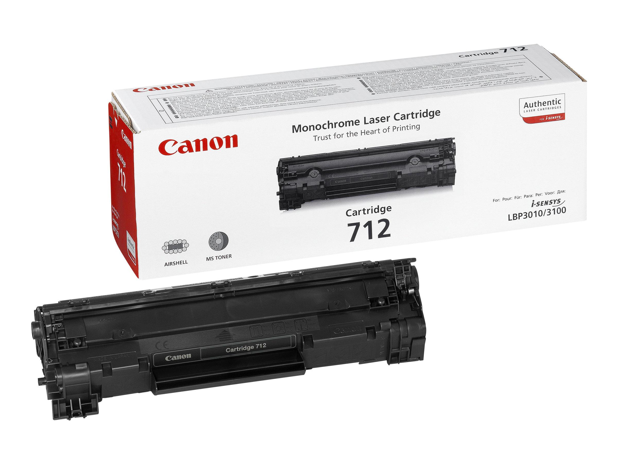 CANON 712 NEGRO ORIGINALCARTUCHO DE TONER PARA I-