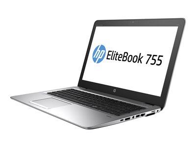"""HP EliteBook 755 G4 - A10 PRO-8730B / 1.8 GHz - Win 10 Pro 64-bit - 12 GB RAM - 500 GB HDD - 15.6"""" TN 1920 x 1080 (Full HD) - Radeon R5 - Wi-Fi, Bluetooth - kbd: US"""
