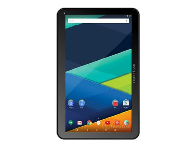 "Visual Land PRESTIGE Elite 10QL - Tablet - Android 5.0 (Lollipop) - 16 GB - 10.1"" (1024 x 600) - microSD slot - black - with Keyboard Case"