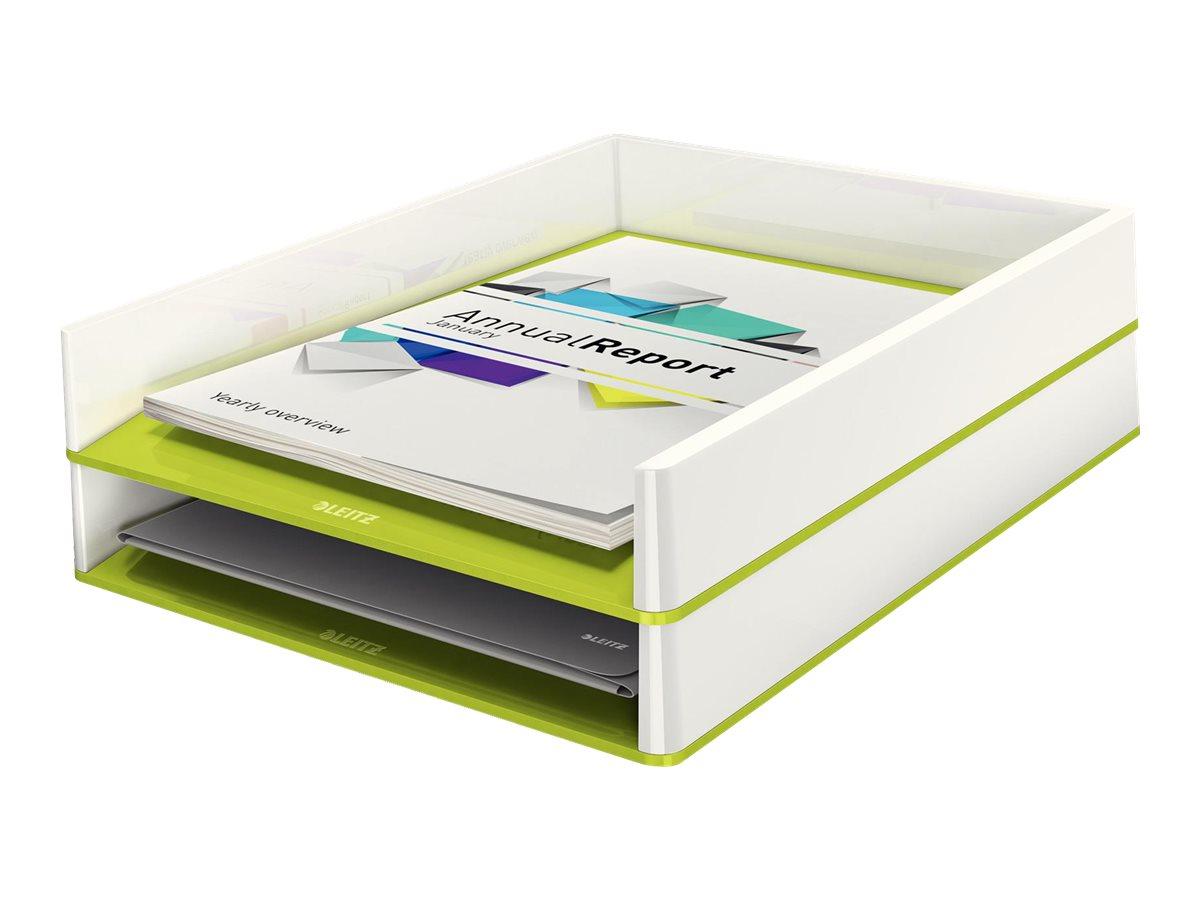 Leitz WOW Dual Colour - corbeille à courrier
