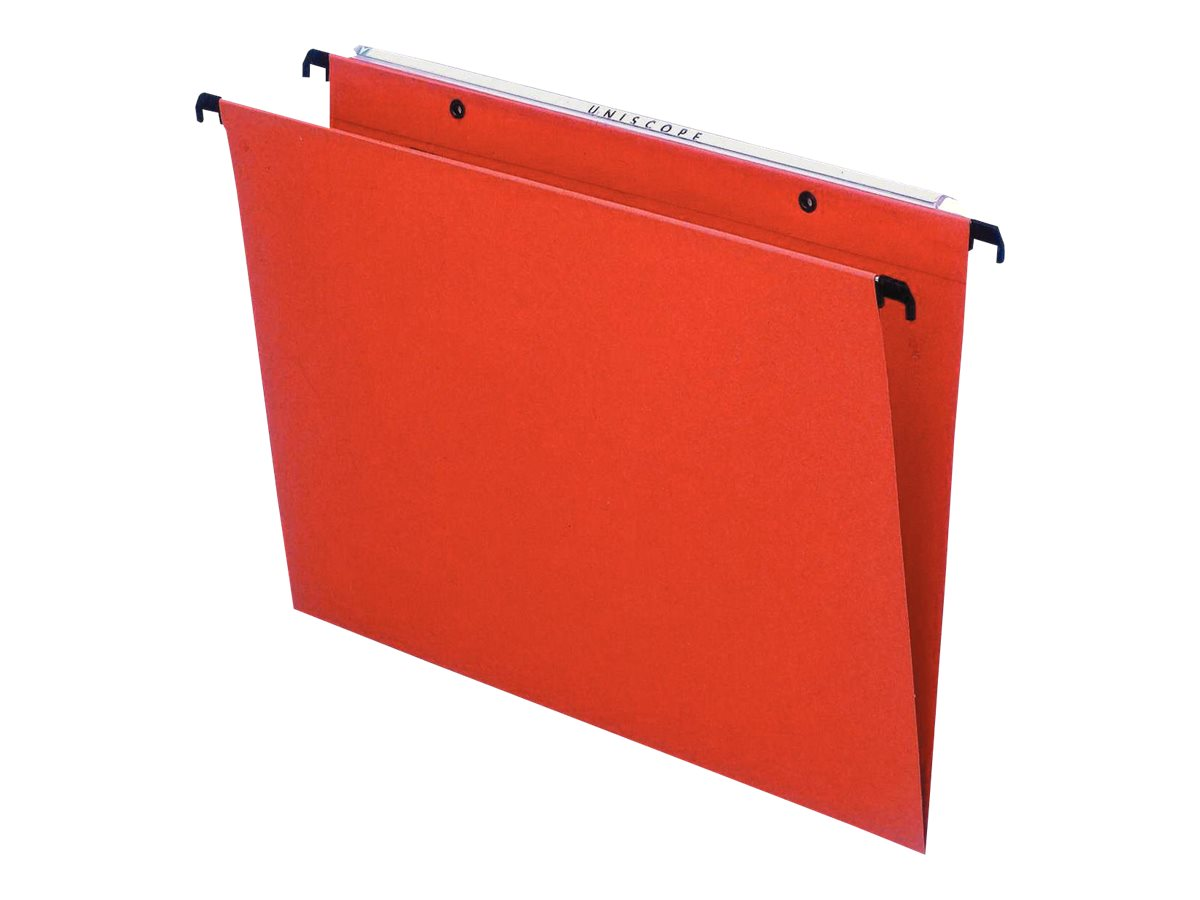 Esselte Orgarex Kori V.M.G - 25 Dossiers suspendus - 15 mm - pour tiroir - orange