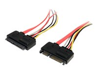 STARTECH - CABLES StarTech.com 12in 22 Pin SATA Power and Data Extension CableSATA22PEXT
