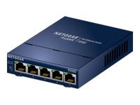 NETGEAR ProSAFE FS105v3 - commutateur - 5 ports - non géré - Ordinateur de bureau, fixation murale
