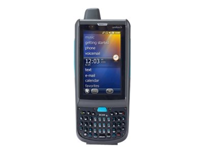 "Unitech PA962 - Data collection terminal - Win Embedded Handheld 6.5 Pro - 512 MB - 3.8"" color TFT ( 800 x 480 ) - rear camera - barcode reader - ( laser ) - USB host - microSD slot - Wi-Fi, Bluetooth - 3G"