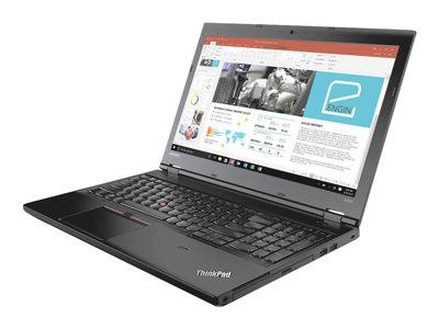 """Lenovo ThinkPad L570 20J8 - Core i7 7600U / 2.8 GHz - Win 10 Pro 64-bit - 8 GB RAM - 256 GB SSD TCG Opal Encryption 2 - DVD-Writer - 15.6"""" IPS 1920 x 1080 (Full HD) - HD Graphics 620 - Wi-Fi, Bluetooth - WWAN upgradable - black"""