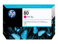 HP Cartucho de tinta Magenta (n�80)C4847A