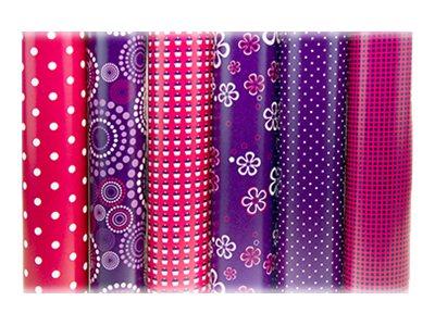 Clairefontaine Alliance - Papier cadeau - 70 cm x 2 m - rose