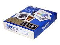 Brother BP60MPLTR Multi-Purpose Paper - Letter A Size (8.5 in x 11 in) - 75 g/m² - 500 sheet(s) plain paper - for Brother HL-L5000, L5100, L5200, L6200, L6250, L6300, L6400, L8350, L9200, MFC-J5830, J6535