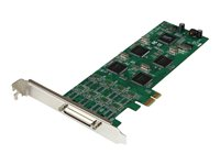 StarTech.com 8 Port Low Profile PCI Express RS232 Serial Card w/161050 UART