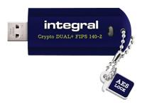 Integral Europe Clés USB INFD64GCRYDLPL140-2
