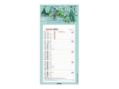 Oberthur Plaques Illustree - calendrier mensuel