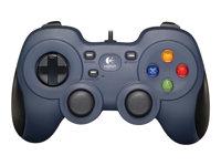 Logitech Gamepad F310 - Gamepad - 10 buttons