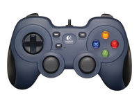 Logitech Gamepad F310 - Mando de videojuegos - 10 botones