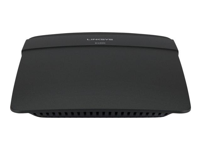 Image of Linksys E1200 - wireless router - 802.11b/g/n - desktop