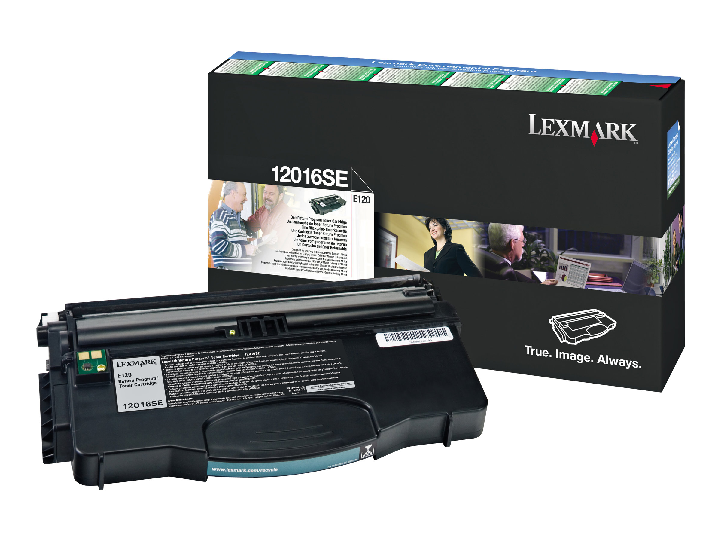 Lexmark - Noir - 12016SE - 2000 pages - original - cartouche de toner