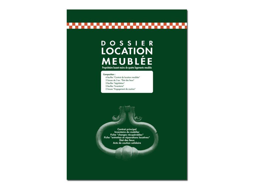 Exacompta - registre de locations meublées