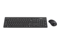 Toshiba KC300W - Keyboard and mouse set - wireless - 2.4 GHz - English - for Portégé A30, X20, X30, Z20, Z30; Satellite L55; Tecra A40, A50, C40, C50, X40, Z40, Z50