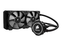 Corsair Hydro Series H105 240mm Extreme Performance Liquid CPU Cooler - Liquid cooling system - ( LG