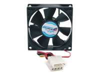 StarTech.com 80x25mm Dual Ball Bearing Computer Case Fan w/ LP4 Connector