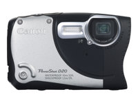 Canon PowerShot D20, PowerShot D20 12.1Mpix, 3LCD, 5x zoom,Silve