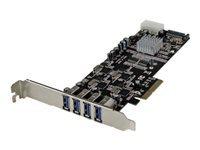 StarTech.com 4 Port PCI Express USB 3.0 Card w/ 4 Dedicated Channels - UASP - adaptateur USB