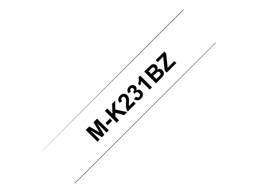 Brother MK 12 mm - Ruban d'étiquettes auto-adhésives - Différents coloris